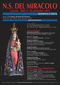 N.S del Miracolo 2014