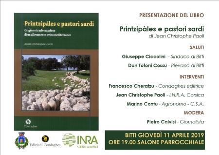 Presentazione libro Printzipàles e pastori sardi