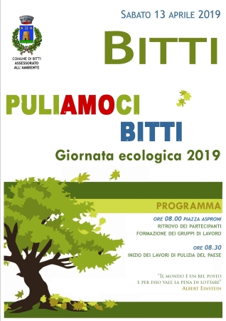 PuliAMOci Bitti. Giornata ecologica 2019
